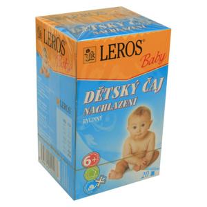 LEROS Baby Dýchací cesty s lípou n.s.20x2g - II. jakost