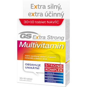GS Extra Strong Multivitamin tbl.30+10 2017 - II. jakost