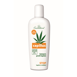 Cannaderm Capillus šampon proti lupům NEW 150ml - II. jakost