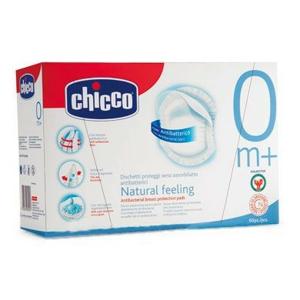 CHICCO Tampony do podprsenky antibakteriální 60ks - II. jakost