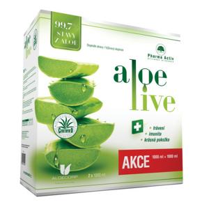 AloeVeraLife šťáva z aloe 99.7% 1000ml 1+1zdarma - II. jakost