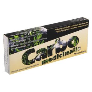 Carbo medicinalis PharmaSwiss tbl.20 - II. jakost