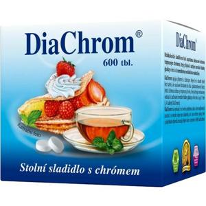 DiaChrom tbl.600 nízkokalorické sladidlo - II. jakost