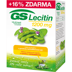 GS Lecitin 1200 cps.120+20 - II. jakost
