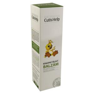 CutisHelp konopný tělový balzám dětský 200ml - II. jakost