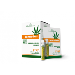 Cannaderm Cannadent sérum 10x1.5ml - II. jakost