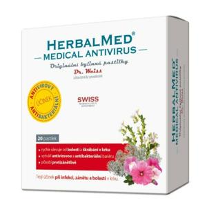 HerbalMed Medical Antivirus Dr.Weiss 20 pastilek - II. jakost