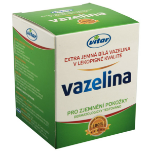 Vitar Vazelina extra jemná bílá 110g - II. jakost