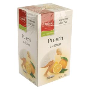 Apotheke Pu-erh a citron čaj n.s.20x1.8g - II. jakost
