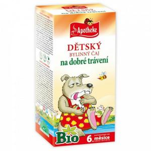 Apotheke Dětský čaj BIO dobré trávení 20x1.5g - II. jakost