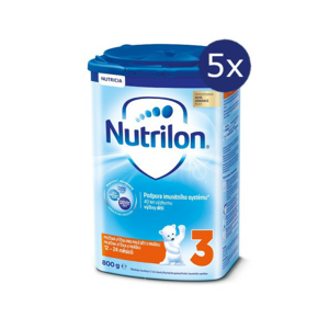 Nutrilon 3 800g - balení 5 ks
