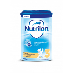 Nutrilon 3 Vanilka 800g - balení 2 ks