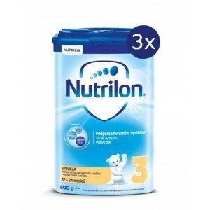 Nutrilon 3 Vanilka 800g - balení 3 ks
