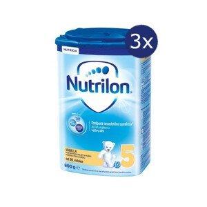 Nutrilon 5 Vanilla 800g - balení 3 ks