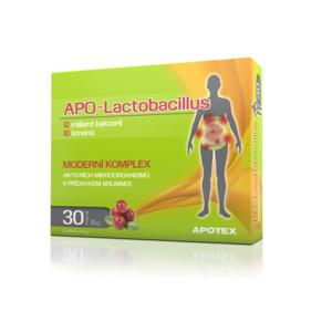 APO-Lactobacillus 10+ cps.30 - II. jakost