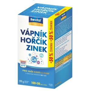 VITAR/Rev.Vápník+hořčík+zinek+vit.D3+K1 tbl.100+50 - II. jakost