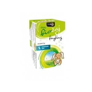 BABIO dětský biočaj fenyklový 20x1.5g 1T - II. jakost