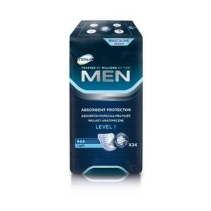 TENA Men Level 1 - Inkontinenční vložky pro muže (24 ks) - II. jakost