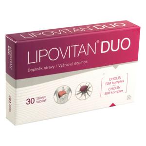 Lipovitan DUO tbl.30 nový - II. jakost