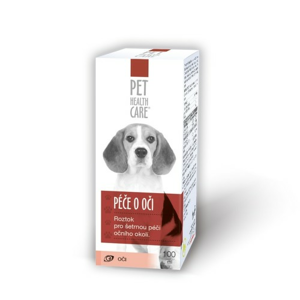 PET HEALTH CARE Péče o oči 100 ml - II. jakost