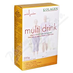 Multi Drink s kolagenem a luteinem 200g