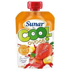 Sunar Cool ovoce jahoda banán jablko 120g C-162