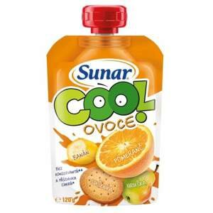 Sunar Cool ovoce pomeranč banán sušenka 120g C-164