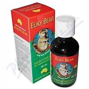 Euky Bear eukalyptový olej 50ml - II. jakost