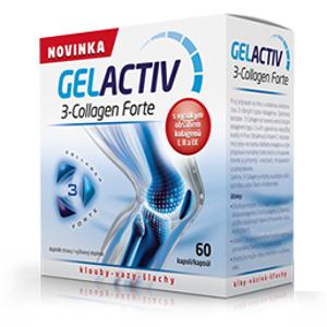 GelActiv 3-Collagen Forte cps.60+60 Zdarma - II. jakost