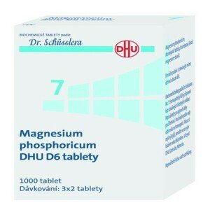 MAGNESIUM PHOSPHORICUM DHU neobalené tablety 1000
