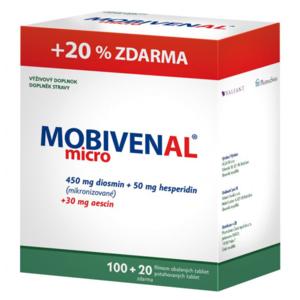 Mobivenal micro tbl.100+20 - II. jakost