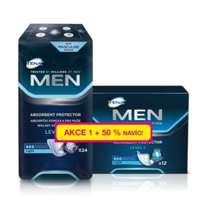 TENA Men Level 1 +50% navíc ink.vložky 36ks 750681 - II. jakost
