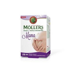 Mollers Mama Omega3 cps.28 +vitam.a miner.tbl.28 - II. jakost