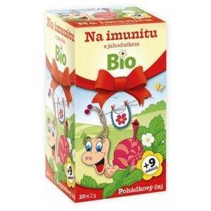 Dětský BIO Pohádkový čaj Imunita s jahodník.20x2g