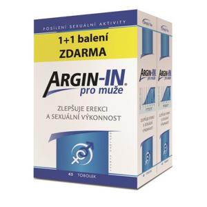 Argin-IN pro muže tob.45 + Argin-IN tob.45 zdarma - II. jakost