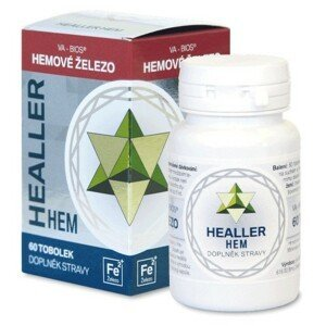 Healler HEM - hemové železo 60 tob. (řada HEALER)