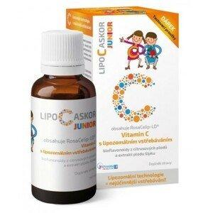 LIPO C ASKOR Junior tekutý lipozomální vit.C 110ml