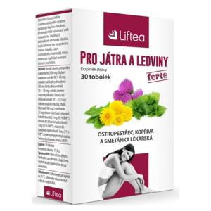 LIFTEA pro játra a ledviny tob.30 - II. jakost