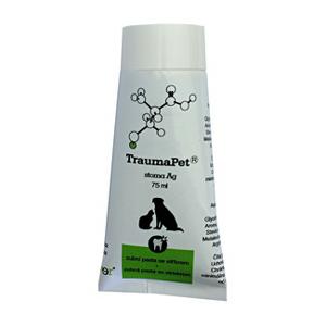 TraumaPet zubní pasta s Ag 75ml - II. jakost