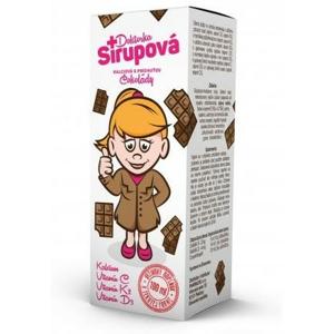 Doktorka Sirupová kalciová Čokoláda 100ml