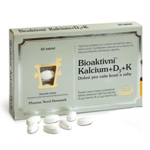 Bioaktivní Kalcium+D3+K1+K2 tbl.60 - II. jakost