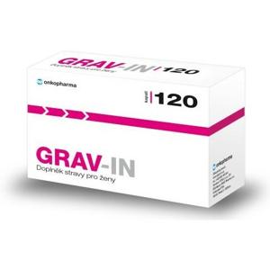 GRAV-IN otěhotnění-premen.syndr.-menopauza cps.120 - II. jakost