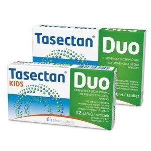 Tasectan DUO tbl.12 + 12 sáčků cestovní balení