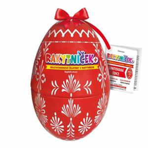 RAKYTNÍČEK+ želatinky 50ks červené vejce 2020