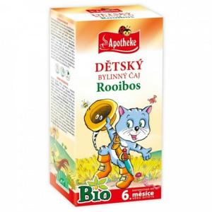 Apotheke Dětský čaj BIO rooibos běžné pití 20x1.5g - II. jakost