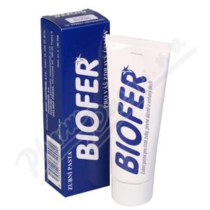 Zubní pasta Biofer 75ml - II. jakost