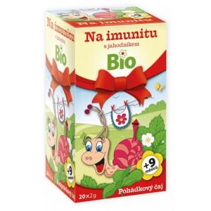 Dětský BIO Pohádkový čaj Imunita s jahodník.20x2g - II. jakost