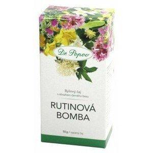 Dr.Popov Čaj Rutinová bomba 50g - II. jakost