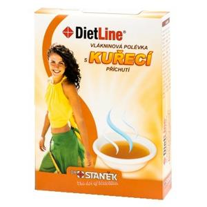 DietLine Vlákninová polévka s kuřecí příchutí 3ks - II. jakost