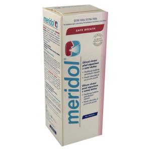 Meridol Safe breath ústní voda 400ml - II. jakost